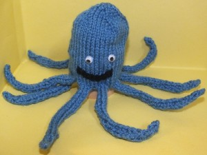 Blue Octopus cropped