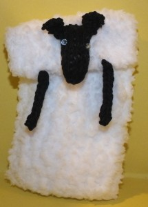 Sheep phone cover cropped