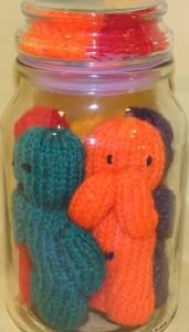 Jar of 'Jelly' Babies Orange